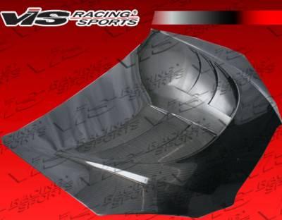 VIS Racing - Hyundai Genesis VIS Racing SCV Black Carbon Fiber Hood - 10HYGEN2DPL-010C