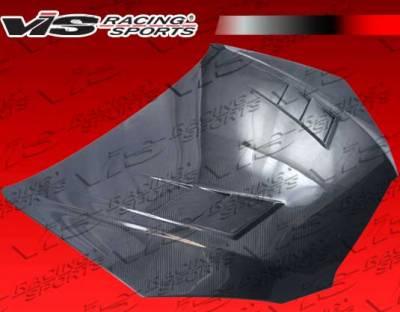 VIS Racing - Hyundai Genesis VIS Racing Terminator GT Black Carbon Fiber Hood - 10HYGEN2DTMGT-010C