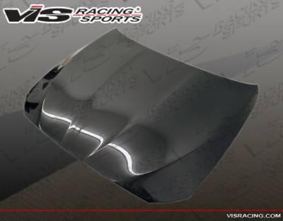 VIS Racing - BMW 5 Series VIS Racing OEM Black Carbon Fiber Hood - 11BMF104DOE-010C