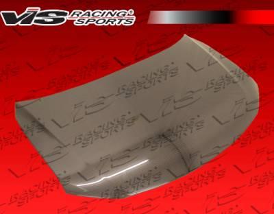 VIS Racing - Scion tC VIS Racing OEM Black Carbon Fiber Hood - 11SNTC2DOE-010C