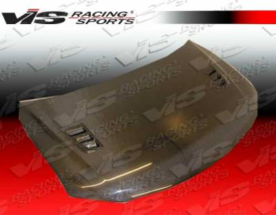 VIS Racing - Scion tC VIS Racing RR Black Carbon Fiber Hood - 11SNTC2DRR-010C