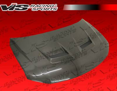 VIS Racing. - Scion tC VIS Racing Terminator Black Carbon Fiber Hood - 11SNTC2DTM-010C
