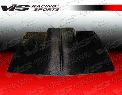 VIS Racing - Chevrolet Camaro VIS Racing Cowl Induction Black Carbon Fiber Hood - 82CHCAM2DCI-010C