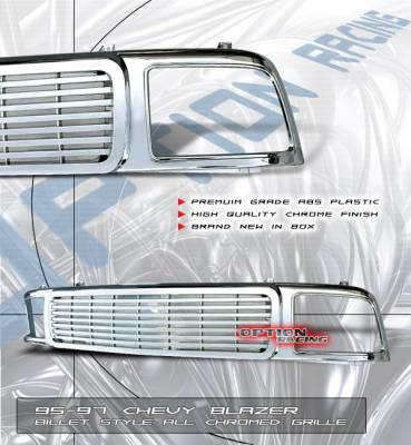 Custom - Chrome Billet Grille