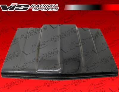 VIS Racing - Chevrolet S10 VIS Racing OEM Black Carbon Fiber Hood - 82CHS102DCI-010C