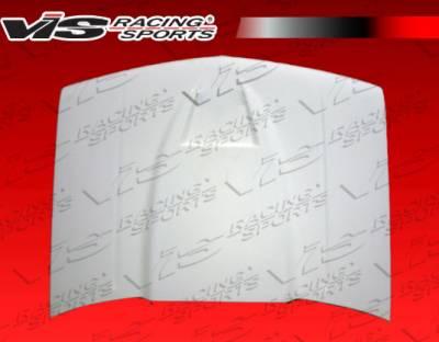 VIS Racing - Chevrolet S10 VIS Racing Fiberglass Ram Air Hood - 82CHS102DRAM-010