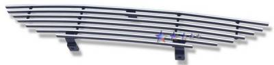 APS - Ford Mustang APS Billet Grille - without Logo Opening - Upper - Stainless Steel - F86001S