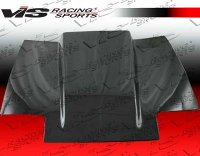 VIS Racing - Nissan 300Z VIS Racing Cowl Induction Carbon Fiber Hood - 84NS3002DCI-010C