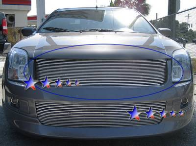 APS - Ford Fusion APS Billet Grille - Upper - Aluminum - F86493A