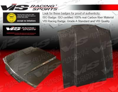 VIS Racing - Ford Mustang VIS Racing Cowl Induction Black Carbon Fiber Hood - 87FDMUS2DCI-010C