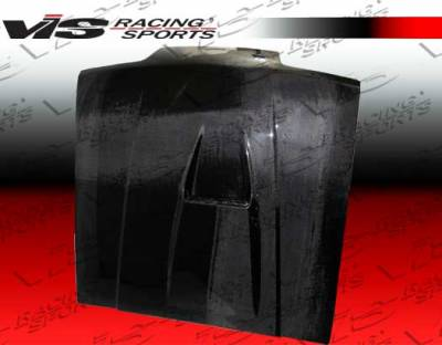 VIS Racing. - Ford Mustang VIS Racing SS Black Carbon Fiber Hood - 87FDMUS2DSS-010C