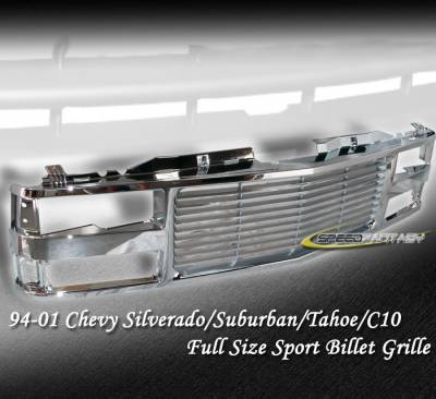 Custom - CHROME 1 PC GRILLE