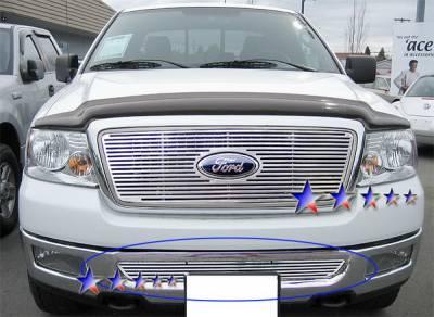 APS - Ford F150 APS CNC Grille - Bumper - Aluminum - F95351A