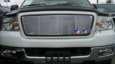 APS - Ford F150 APS CNC Grille - Honeycomb without Logo Opening - Upper - Aluminum - F95725A