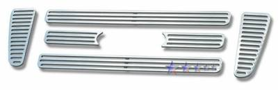 APS - Ford F150 APS CNC Grille - Bar Style - Upper - Aluminum - F95726A