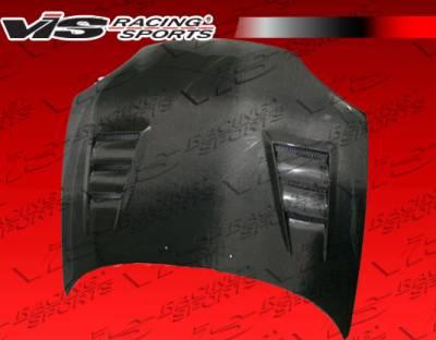 VIS Racing - Mazda MX3 VIS Racing Terminator Black Carbon Fiber Hood - 90MZMX32DTM-010C