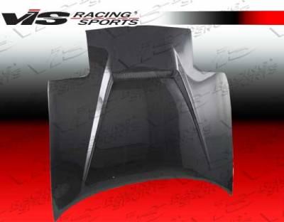 VIS Racing - Mazda Miata VIS Racing Invader Black Carbon Fiber Hood - 90MZMX52DVS-010C