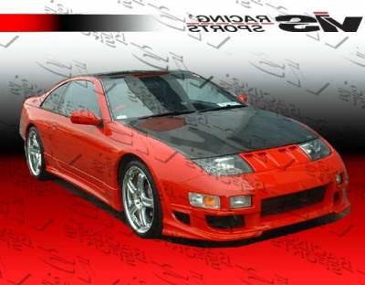 VIS Racing - Nissan 300Z VIS Racing OEM Black Carbon Fiber Hood - 90NS3002DOE-010C