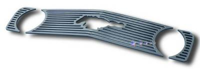 APS - Ford Mustang APS CNC Grille - Upper - Aluminum - F96013A