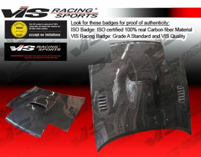 VIS Racing - Toyota Celica VIS Racing AT Black Carbon Fiber Hood - 90TYCEL2DAT-010C