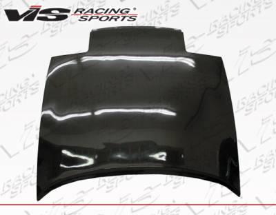 VIS Racing - Toyota Celica VIS Racing OEM Style Carbon Fiber Hood - 90TYCEL2DOE-010C
