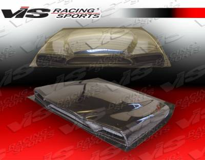 VIS Racing - Toyota MR2 VIS Racing Ballistix Carbon Fiber Engine Lid - 90TYMR22DBX-021C