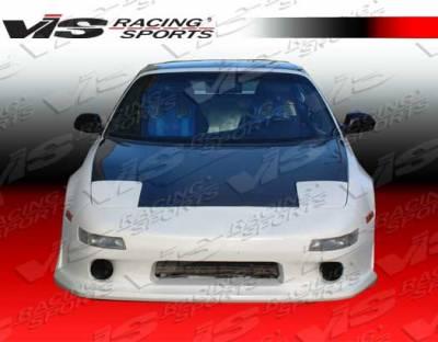 VIS Racing - Toyota MR2 VIS Racing OEM Black Carbon Fiber Hood - 90TYMR22DOE-010C