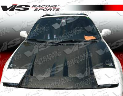 VIS Racing - Toyota MR2 VIS Racing Techno R Black Carbon Fiber Hood - 90TYMR22DTNR-010C