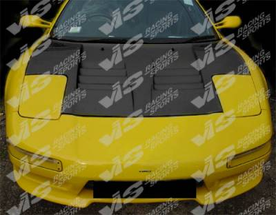 VIS Racing - Acura NSX VIS Racing G Speed Black Carbon Fiber Hood - 91ACNSX2DGS-010C