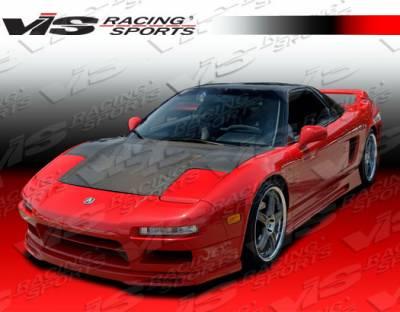 VIS Racing - Acura NSX VIS Racing OEM Black Carbon Fiber Hood - 91ACNSX2DOE-010C
