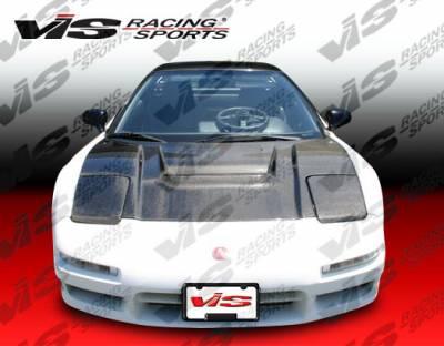 VIS Racing - Acura NSX VIS Racing Type R Black Carbon Fiber Hood - 91ACNSX2DTYR-010C