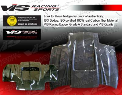 VIS Racing - Saturn SC Coupe VIS Racing ZD Black Carbon Fiber Hood - 91SASC22DZD-010C