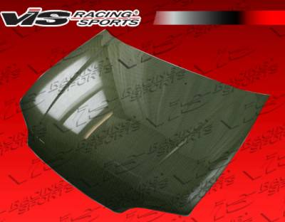 VIS Racing - Honda Civic 2DR & Hatchback VIS Racing OEM Style Carbon Kevlar Hood - 92HDCVC2DOE-010K