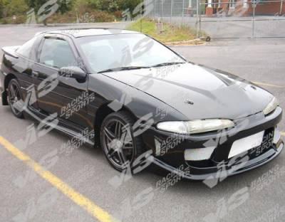 VIS Racing - Mitsubishi Eclipse VIS Racing Invader Black Carbon Fiber Hood - 92MTECL2DVS-010C