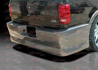 AIT Racing - Ford Expedition BMagic Presidente Series Rear Bumper - FE97BMPRERB
