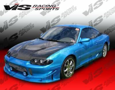 VIS Racing - Mazda MX6 VIS Racing Invader Black Carbon Fiber Hood - 93MZMX62DVS-010C