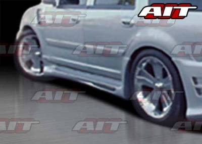 AIT Racing - Ford Expedition AIT EXE Style Side Skirts - FE97HIEXESS