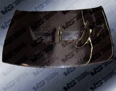 VIS Racing - Nissan Altima VIS Racing EVO Black Carbon Fiber Hood - 93NSALT4DEV-010C
