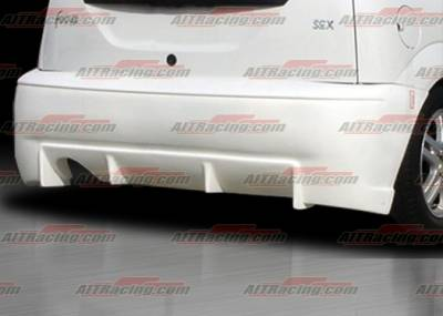 AIT Racing - Ford Focus AIT Racing BC Style Rear Bumper - FF00HIBCSRB