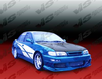 VIS Racing - Toyota Corolla VIS Racing Invader Black Carbon Fiber Hood - 93TYCOR4DVS-010C