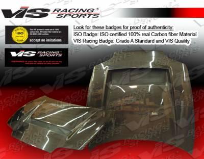 VIS Racing - Toyota Supra VIS Racing J GT Black Carbon Fiber Hood - 93TYSUP2DJGT-010C