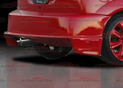 AIT Racing - Ford Focus AIT Racing Drifter Style Rear Bumper - FF00HIDFSRB