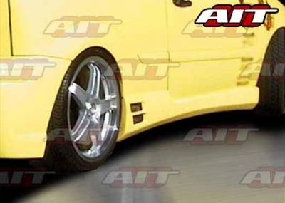 AIT Racing - Ford Focus ZX3 AIT EVO2 Style Side Skirts - FF00HIEVO2SS3