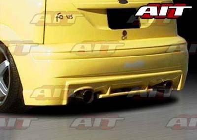 AIT Racing - Ford Focus ZX3 AIT EVO3 Style Rear Bumper - FF00HIEVO3RB3