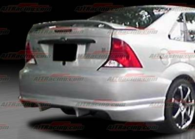 AIT Racing - Ford Focus AIT Racing FLS Style Rear Bumper - FF00HIFLSRB4