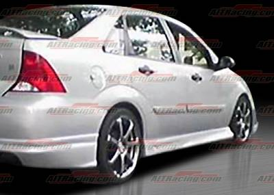 AIT Racing - Ford Focus AIT Racing FLS Style Side Skirts - FF00HIFLSSS4