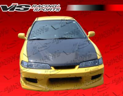 VIS Racing - Acura Integra VIS Racing OEM Black Carbon Fiber Hood - 94ACITR2DOE-010C