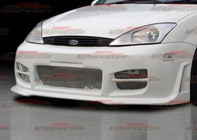 AIT Racing - Ford Focus AIT Racing R34 Style Front Bumper - FF00HIR34FB