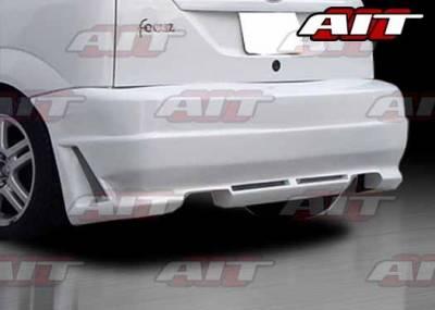 AIT Racing - Ford Focus ZX5 AIT R34 Style Rear Bumper - FF00HIR34RB3