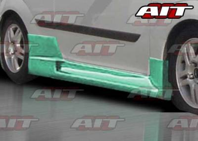 AIT Racing - Ford Focus ZX5 AIT R34 Style Side Skirts - FF00HIR34SS3